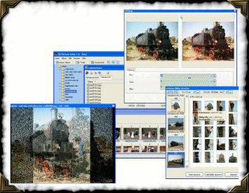 Screenshot vom Programm: CK PictureSuite